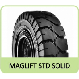"6.50-10 5.00"" BKT MAGLIFT STD SOLID"