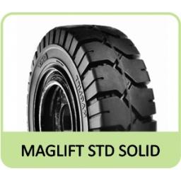 "6.50-10 5.00"" BKT MAGLIFT STD SOLID"